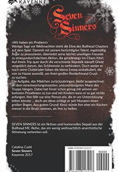 Abdeckung Seven Sinners: Ein Bullhead MC-Weihnachtsspecial (Bullhead MC-Series, Band 6)