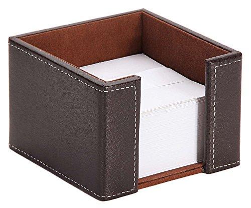Osco Faux Leather Letter Holder Brown Osco Europe