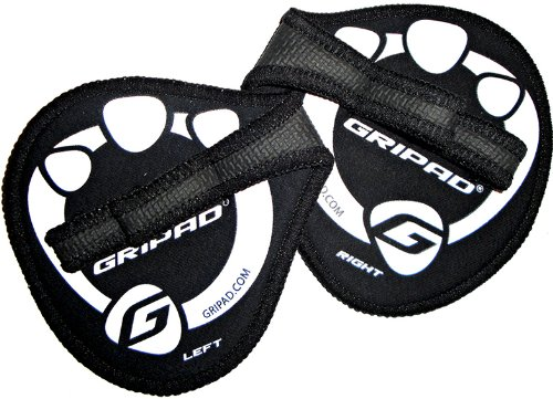 Gripad Workout Grips, Black