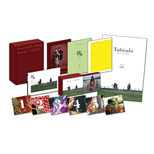Tabitabi + Every Best Single 2 〜MORE COMPLETE〜(6CD+2DVD+2BD)(撮りおろしフォトブック付)(数量生産限定盤)