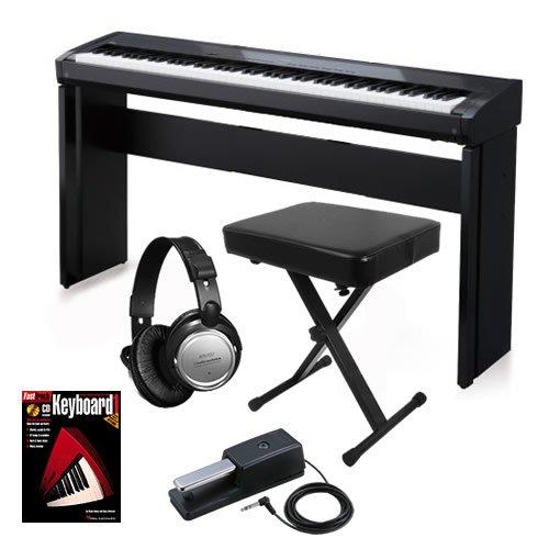 Kawai EP3 Digital Piano ESSENTIALS BUNDLE w/ Designer Stand & Bench