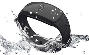 RIVERSONG Fitness Tracker Updated Version Waterproof Heart Rate Tracking Smart Bracelet Pedometer Activity Monitors Sleep Calorie Tracking Wristband Great Present(Black)