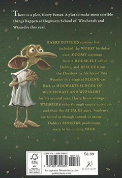 Livres Couvertures de Harry Potter and the Chamber of Secrets