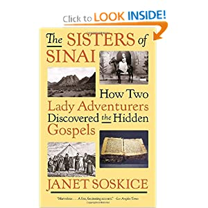 Janet Soskice, Sisters of Sinai