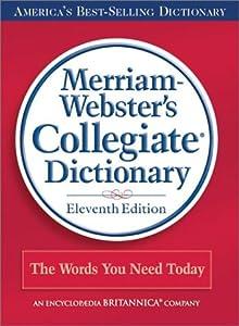 "Cover of ""Merriam-Webster's Collegiate Di..."