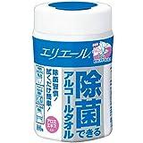 エリエール 除菌できるアルコールタオル 本体100枚【HTRC3】