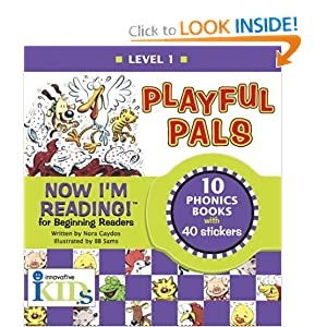 Now I'm Reading! Playful Pals, Level 1