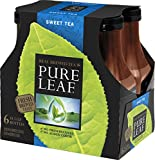 Pure Leaf Iced Tea, Sweet Tea, 18.5 oz Bottle (6-Pack)