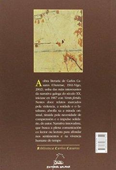Portada del libro deVento ferido (Biblioteca Carlos Casares)