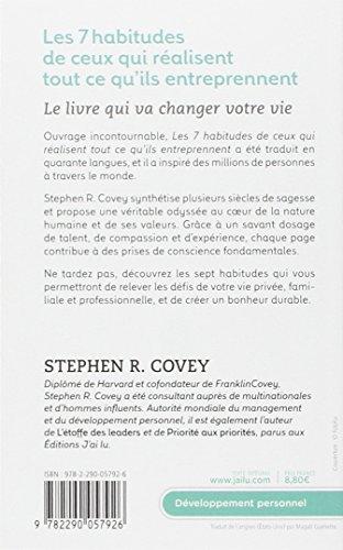 DE STEPHEN COVEY 7 HABITUDES TÉLÉCHARGER LES