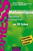 Mathématiques L1/L2 : Statistique et Probabilités : en 30 fiches (Express)