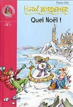 Livres Couvertures de Hôtel Bordemer : Quel Noël !