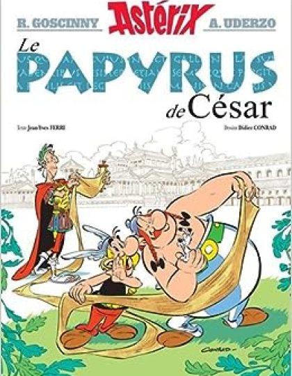 Asterix tome 36 - Le papyrus de Cesar