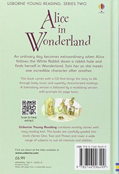 Livres Couvertures de ALICE IN WONDERLAND WITH CD - YOUNG READING 2