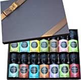 Essential Oil- Beginners Best of the Best Aromatherapy Gift Set- (100% Pure Therapeutic Grade Essential Oils) 14/ 10 ml