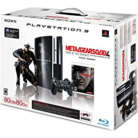 Buy PS3 metal gear solid 4 80 gb pack