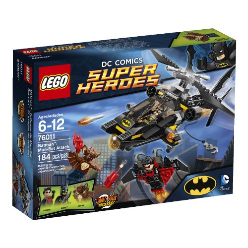 LEGO Building Toys for 5 Year Old Boys - Batman Attack