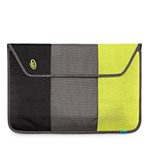 "Timbuk2 Nylon Kindle Sleeve (Fits 6"" Display, 2nd Generation Kindle) Black/GunMetal/Lime-Aide"