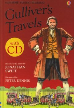Livres Couvertures de Gulliver's Travels. : Book + cd