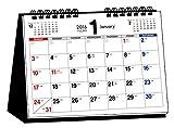2016年 シンプル卓上カレンダー(A5ヨコ) ([カレンダー])