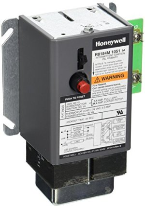 Honeywell R8184M1051 Relay Oil Burner Control 45 Sec, New