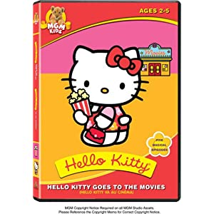 Hello Kitty goes to the movies cover