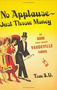 """Cover of """"No Applause--Just Throw Money: ..."""