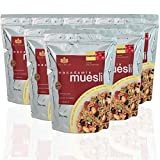 Brookfarm Toasted Macadamia Muesli Granola, 12.35-Ounce Bag (350g) - 6 Pack