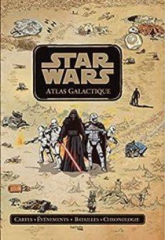 Livres Couvertures de Star Wars Atlas Galactique
