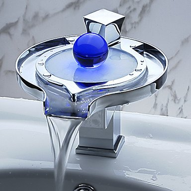 color changing led waterfall bathroom sink faucet unique design review yegorzxbogdanov