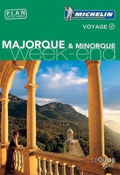 Livres Couvertures de Guide Vert Week-End Majorque & Minorque Michelin