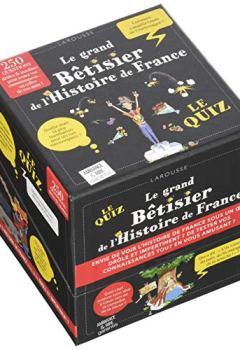 Livres Couvertures de Coffret jeu Le grand Bêtisier de l'Histoire de France
