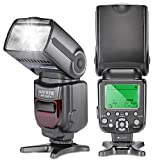 Neewer® NW-565 EXC E-TTL-Slave Speedlite Flash Blitzgerät Blitzlicht mit Blitz-Diffusor für Canon 5D II 7D, 30D, 40D, 50D, EOS 300D / EOS Digital Rebel, EOS 350D / EOS Kiss Digital-N, EOS 400D / Digital Rebel Xti, EOS 1000D / EOS Rebel XS, EOS 500D / Digital Rebel T1i, EOS 550D / Digital Rebel T2i, EOS 600D / EOS Rebel T3i, EOS 700D / EOS Rebel T5i, EOS 100D / EOS Rebel SL1, EOS 1100D / EOS Rebel T3 und alle anderen Canon Modelle