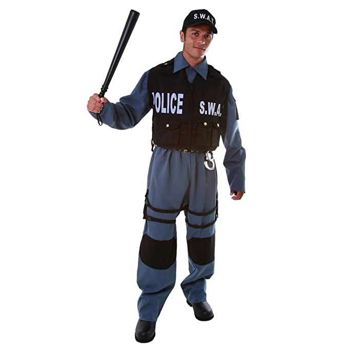 Dress Up America Adult S.W.A.T., Multi-Colored, XX-Large