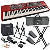 Nord Stage 2 76-Key Stage Piano STAGE BUNDLE w/ Keyboard Amp & Case