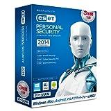 ESET パーソナル セキュリティ 2014 3年版(最新版)