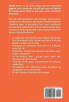 Livres Couvertures de La 25ème Heure: Les Secrets de Productivité de 200 Startuppers qui Cartonnent