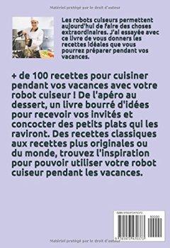 Livres Couvertures de Recettes d'été AU ROBOT CUISEUR: + de 100 recettes pour cuisiner en été