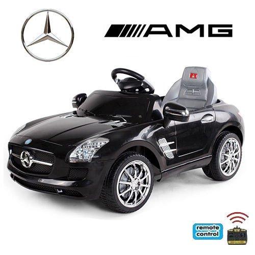 #*2x Motoren* Original Mercedes-Benz AMG SLS Lizenz Kinderauto Kinderfahrzeug (SCHWARZ)#