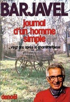 Livres Couvertures de Journal D'un Homme Simple... Vingt Ans Après 'La Charrette Bleue'