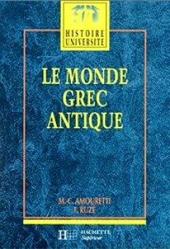 Livres Couvertures de Le Monde Grec Antique