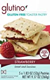 Glutino Gluten Free Toaster Pastry, Strawberry, 1.83 oz. 5 Count