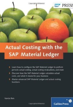 Livres Couvertures de Actual Costing With The SAP Material Ledger by Vanda Reis (24-Aug-2011) Hardcover