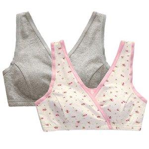 Colrovie-Womens-Seamless-Wirefree-Comfort-Wrap-Nursing-Sleep-Bra-for-Maternity