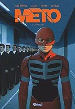 Livres Couvertures de Meto, Tome 1 : La Maison (BD)