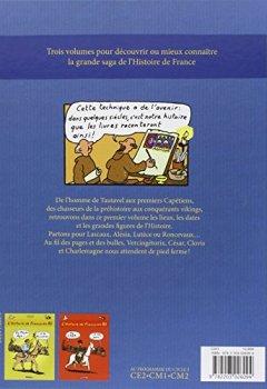 Livres Couvertures de L'histoire de France en BD, Tome 1 : De la préhistoire à l'an mil