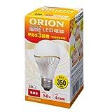 ルミナス LED電球 スリムタイプ 3段階調光機能付き 口金E26 電球色 350lm 30W相当 LEC6AL26/M (Luminous / ORION)