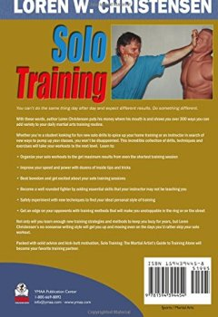 Livres Couvertures de Solo Training: The Martial Artist's Guide to Training Alone