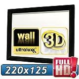 253cm (220x125 sichtbar) ULTRALUXX © RL Rahmenleinwand