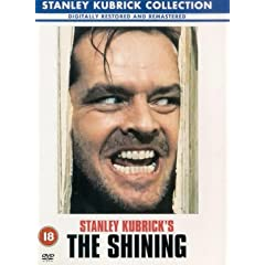 The Shining, 1980 film directed by Stanley Kubric, based on Stephen King's book